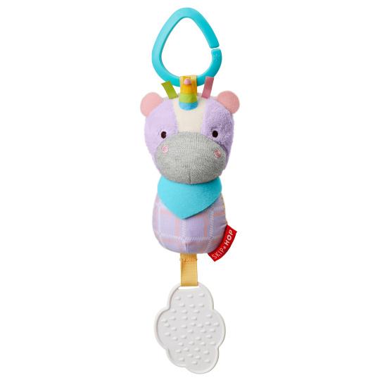 צעצוע לעגלה עם נשכן -חד קרן