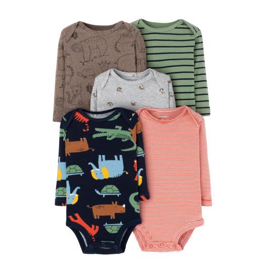 חמישיית בגדי גוף חיות