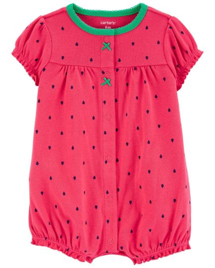 אוברול קצר תות