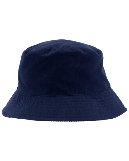 כובע דו צדדי נייבי פסים
