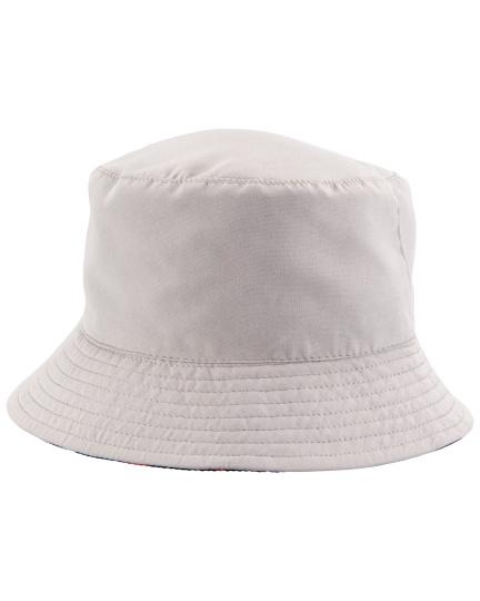 כובע דו צדדי אפור ים