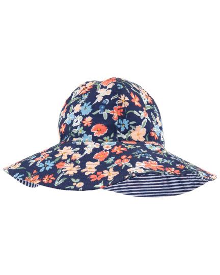 כובע רחב שוליים דו צדדי