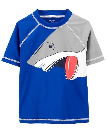 חולצת גלישה כריש שרוול קצר