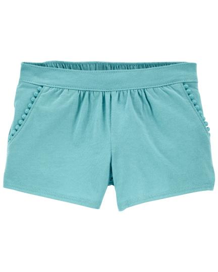 מכנס קצר כחול