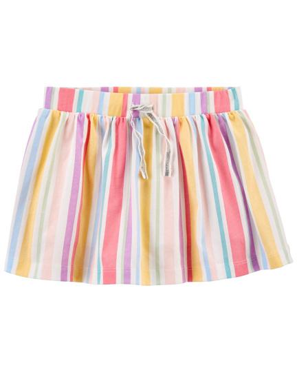 חצאית מכנס פסים