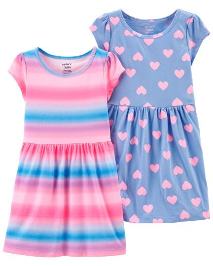 זוג שמלות לבבות אומברה