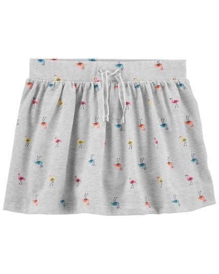 חצאית מכנס מודפסת