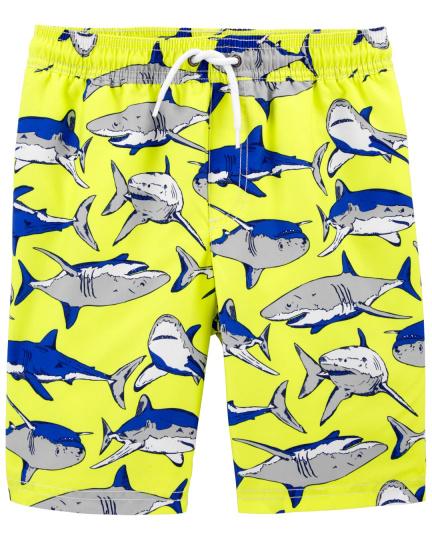 מכנס גלישה מודפס כרישים