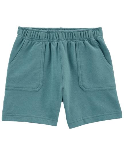 מכנס פרנץ טרי כיסים כחול
