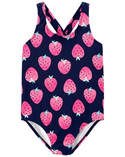 בגד ים שלם תותים