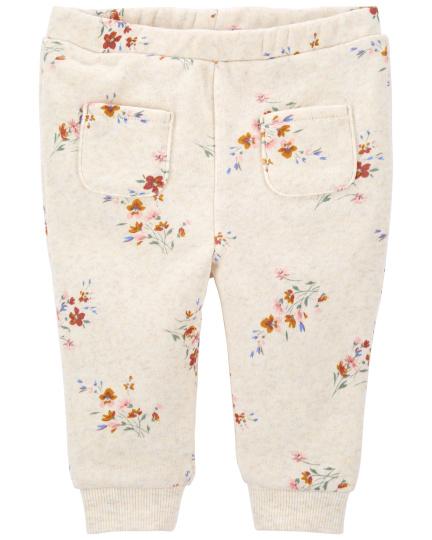 מכנס מודפס פרחים