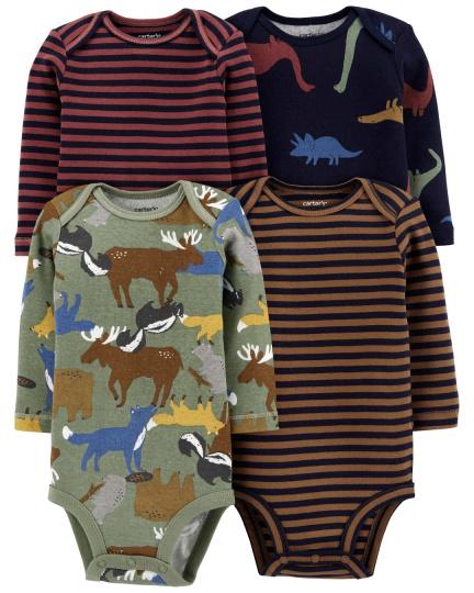 רביעיית בגדי גוף דינוזאורים